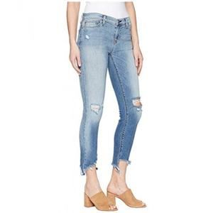 Hudson Tally Destroyed Skinny Crop Jeans